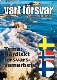 Nr 1/ 2011 Årgång 123 - Allmänna Försvarsföreningen