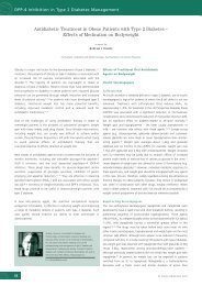 Antidiabetic Treatment in Obese Patients with Type 2 Diabetes ...