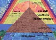 Concerto Orchestra Indirizzo Musicale - Comune di Lazise