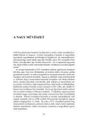 A NAGY M˝UVÉSZET - Typotex