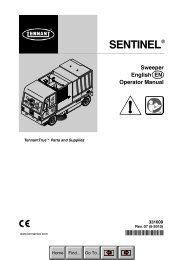 Sentinel CE Operator Manual (EN) - Southern Sweepers