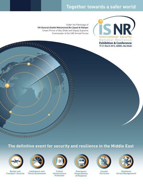 Participate at ISNR Abu Dhabi 2012