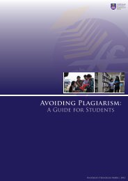 Avoiding Plagiarism: A Guide for Students - UiTM