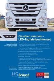 Gesehen werden – LED-Tagfahrleuchtenset - HS Schoch