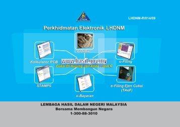 Perkhidmatan Elektronik LHDNM - Lembaga Hasil Dalam Negeri