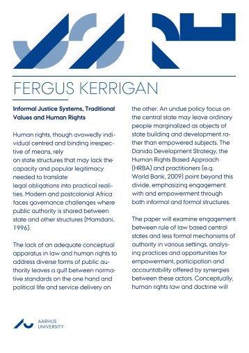 FERGUS KERRIGAN
