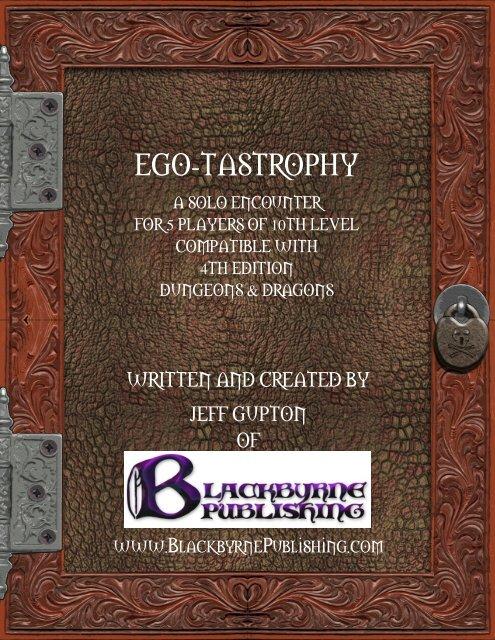 EGO-TASTROPHY