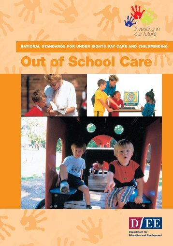 NATIONAL STANDARDS Out of school care