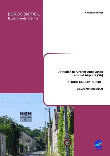 Focus group Report - EUROCONTROL Experimental Centre