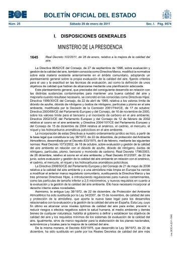 Real Decreto 102/2011 - BOE.es