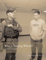 Who is Training Whom? - Strategos International