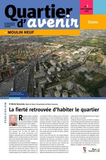 Moulin neuf - Ville de Stains