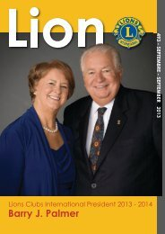 Lions Clubs International - MD 112 Belgium