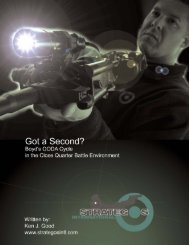 Got a Second? - Strategos International