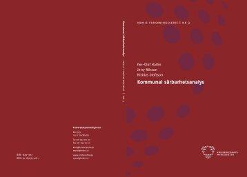 Kommunal sårbarhetsanalys - LUP