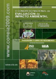 Programa - Asociación española de evaluación de impacto ambiental