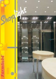 Katalog Shoplight - Formlicht