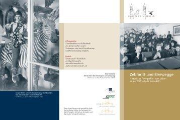 Zebraritt und Birewegge - Klosterarchiv Einsiedeln