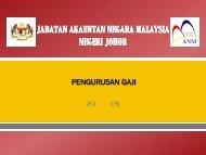 Unit Gaji - Jabatan Akauntan Negara Malaysia