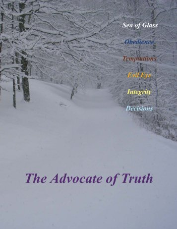 The Advocate of Truth - Church of God (7th Day)