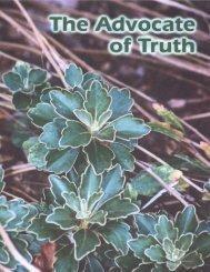 word keys that unlock truth - Church of God (7th Day)