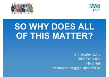 09 Chris Long - Why Does all of This Matter
