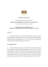 Perubahan Skim Perkhidmatan Pembantu Tadbir (Kesetiausahaan)