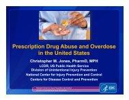Prescription Drug Abuse and Overdose in the United States