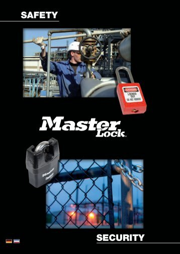 SAFETY SECURITY - Master Lock Safety