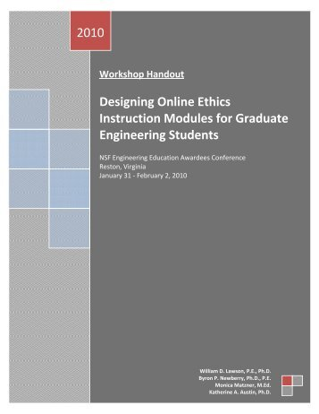 Ethics PDF - Virginia Tech Engineering Communications Center