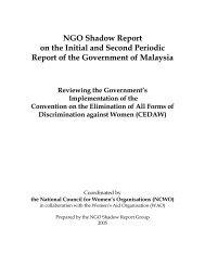NGO Shadow Report - Women's Aid Organisation
