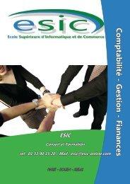 Comptabilité - Groupe ESIC