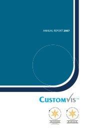 ANNUAL REPORT 2007 - CustomVis