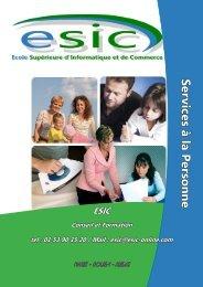 Services à la personne - Groupe ESIC