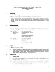 Ringkasan Tatacara (Pusat Pengajian) - Universiti Sains Malaysia