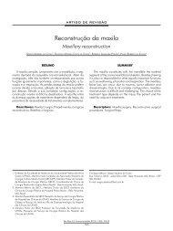 Reconstrução da maxila - ABCCMF