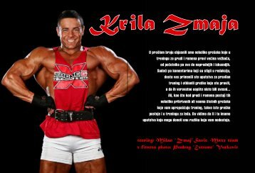"trening: Milan ""Zmaj""Savic, Maxx team - ExYu-fitness"
