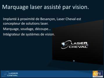 cliquez ici pour visioner notre présentation du logiciel. - Laser Cheval