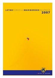 Letno poročilo 2007 - Mariborska knjižnica