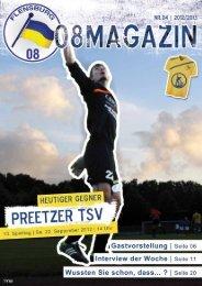 Unser Spielfeld - Flensburg 08
