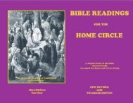 Bible Readings for the Home Circle—1914 - A New You Ministry