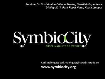 symbiocity scenarios