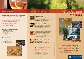 Programm - Slow Food Burgenland