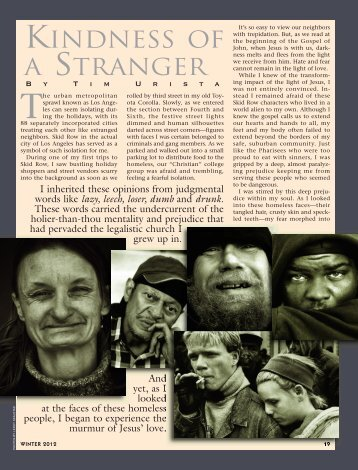 19-20 Kindness of a Stranger:Master Galley - Plain Truth Ministries