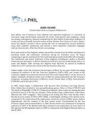 John Adams Biography - LA Phil