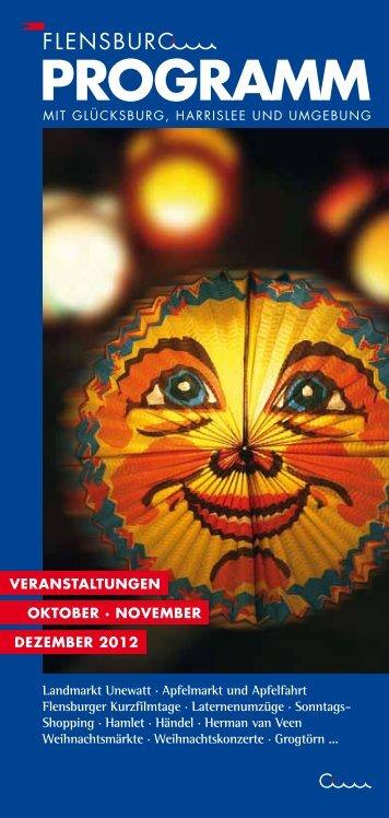 die aktuelle Ausgabe ansehen - Flensburg Programm