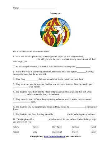 palm passion sunday worksheet fill in the blanks catholic mom. Black Bedroom Furniture Sets. Home Design Ideas