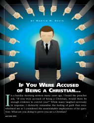 If you were accused of being a Christian - Plain Truth Ministries