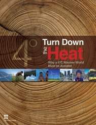 Turn Down The heaT: why a 4°C warmer worlD ... - Climate Analytics
