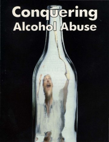 Conquering Alcohol Abuse - Church of God - NEO
